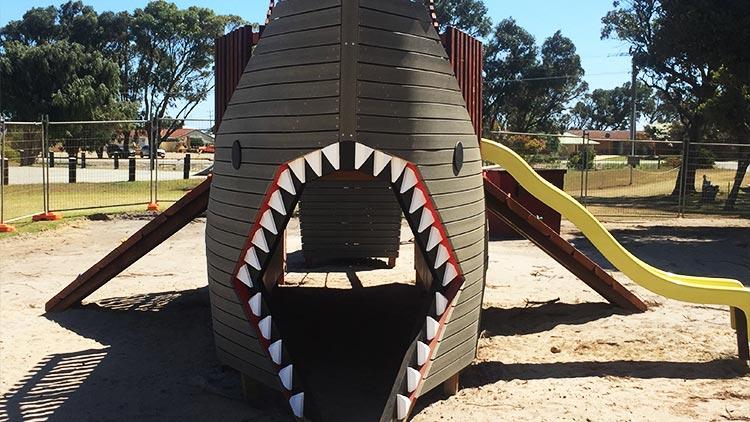 Shark nature playground australia