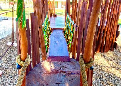 Ballajura Primary School WA nature playground