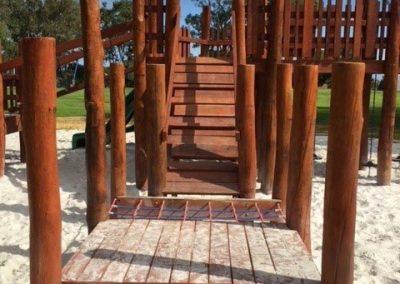 Hamilton Hill Primary School nature playground wood playground