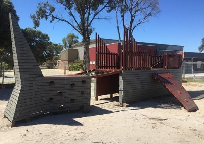 Shark playground Australia nature playground down 2 earth playgrounds