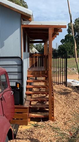 Truck fort nature playground australia